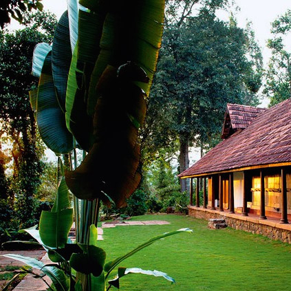 House and Garden - Rajakkad Hotel